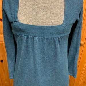 EXPRESS BLUE SWEATER DRESS